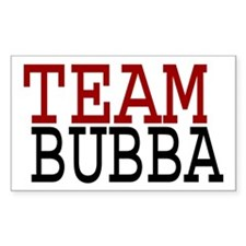 TEAM BUBBA Decal