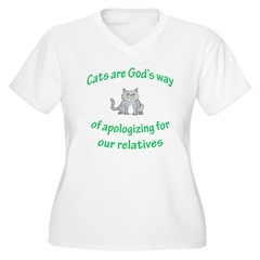 Cats are God's way (HUMANE SO T-Shirt