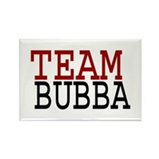 TEAM BUBBA Rectangle Magnet