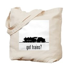 Trains 2 Tote Bag
