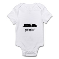 Trains 2 Infant Bodysuit