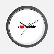i <3 cookie Wall Clock