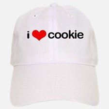i <3 cookie Baseball Baseball Cap