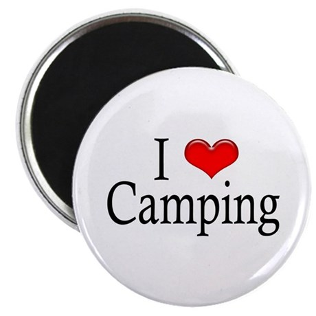 """I Heart Camping 2.25"""" Magnet (100 pack)"""