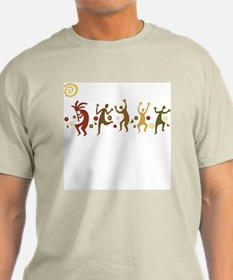 Kokopelli Dancers T-Shirt