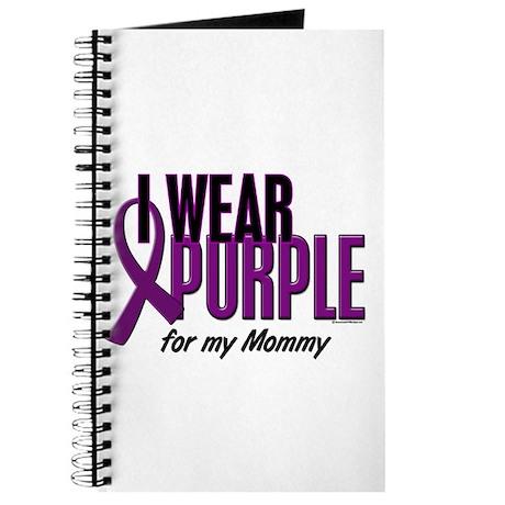 I Wear Purple For My Mommy 10 Journal
