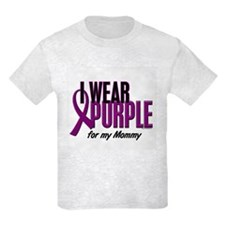 I Wear Purple For My Mommy 10 T-Shirt