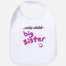 only Child / Big Sister Bib