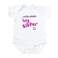 only Child / Big Sister Infant Bodysuit