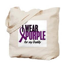 I Wear Purple For My Daddy 10 Tote Bag