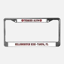 HHS Terrier Alum License Plate Frame