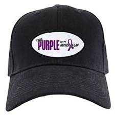 I Wear Purple For My Mother-In-Law 10 Baseball Hat