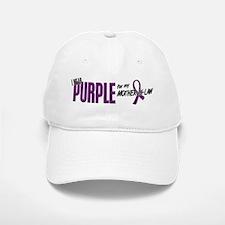 I Wear Purple For My Mother-In-Law 10 Baseball Baseball Cap