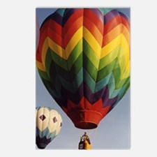 Hot Air Balloons 2 Postcards (Package of 8)