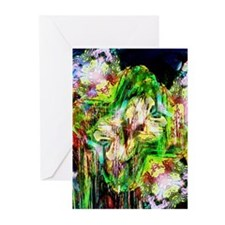 City Lights Abstract Greeting Cards (Pk of 10)