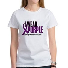 I Wear Purple For My Father-In-Law 10 Tee