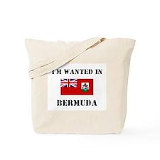 I'm Wanted In Bermuda Tote Bag