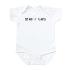 Cute Placentia Infant Bodysuit