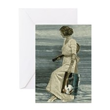 Victorian LH Greeting Card