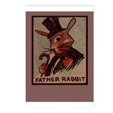 Cute Peter cotton tail Postcards (Package of 8)