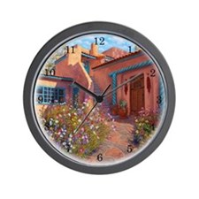 Taos Adobe Garden Wall Clock