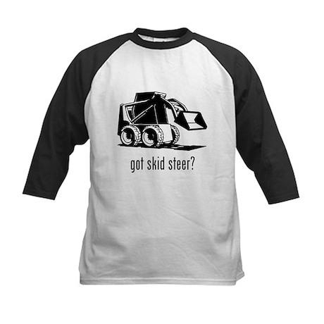 Skid Steer Kids Baseball Jersey