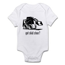 Skid Steer Infant Bodysuit