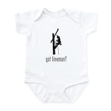 Lineman Infant Bodysuit