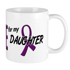 I Wear Purple For My Daughter 10 Mug