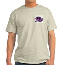I Wear Purple For My Daughter 10 T-Shirt