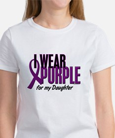 I Wear Purple For My Daughter 10 Tee
