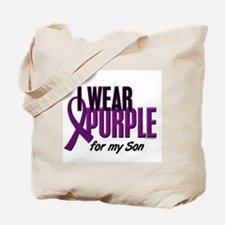 I Wear Purple For My Son 10 Tote Bag