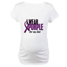 I Wear Purple For My Son 10 Shirt