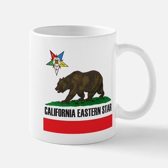 California Flag Eastern Star Mug