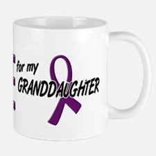 I Wear Purple For My Granddaughter 10 Mug