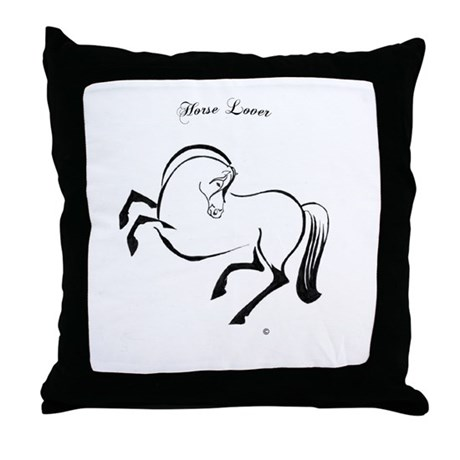 Gifts for Young Riders Throw Pillow