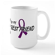 I Wear Purple For My Best Friend 10 Coffee Mug