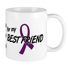 I Wear Purple For My Best Friend 10 Mug