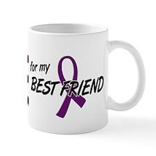 I Wear Purple For My Best Friend 10 Mug