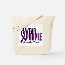 I Wear Purple For My Best Friend 10 Tote Bag