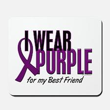 I Wear Purple For My Best Friend 10 Mousepad