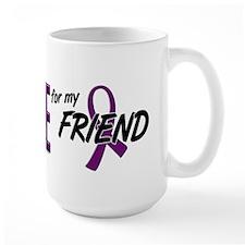 I Wear Purple For My Friend 10 Coffee Mug