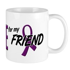 I Wear Purple For My Friend 10 Mug