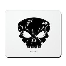 Big Black Skull Mousepad