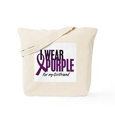 I Wear Purple For My Girlfriend 10 Tote Bag