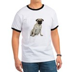 Fawn Pug Ringer T