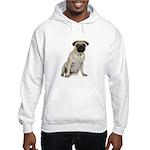 Fawn Pug Hooded Sweatshirt
