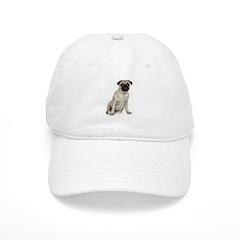 Fawn Pug Baseball Cap