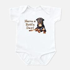 Rottweiler Rott'n Day Infant Bodysuit