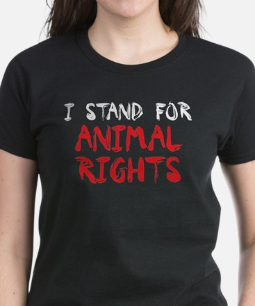 Animal rights Women's Dark T-Shirt